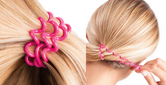 силиконови ластици за коса