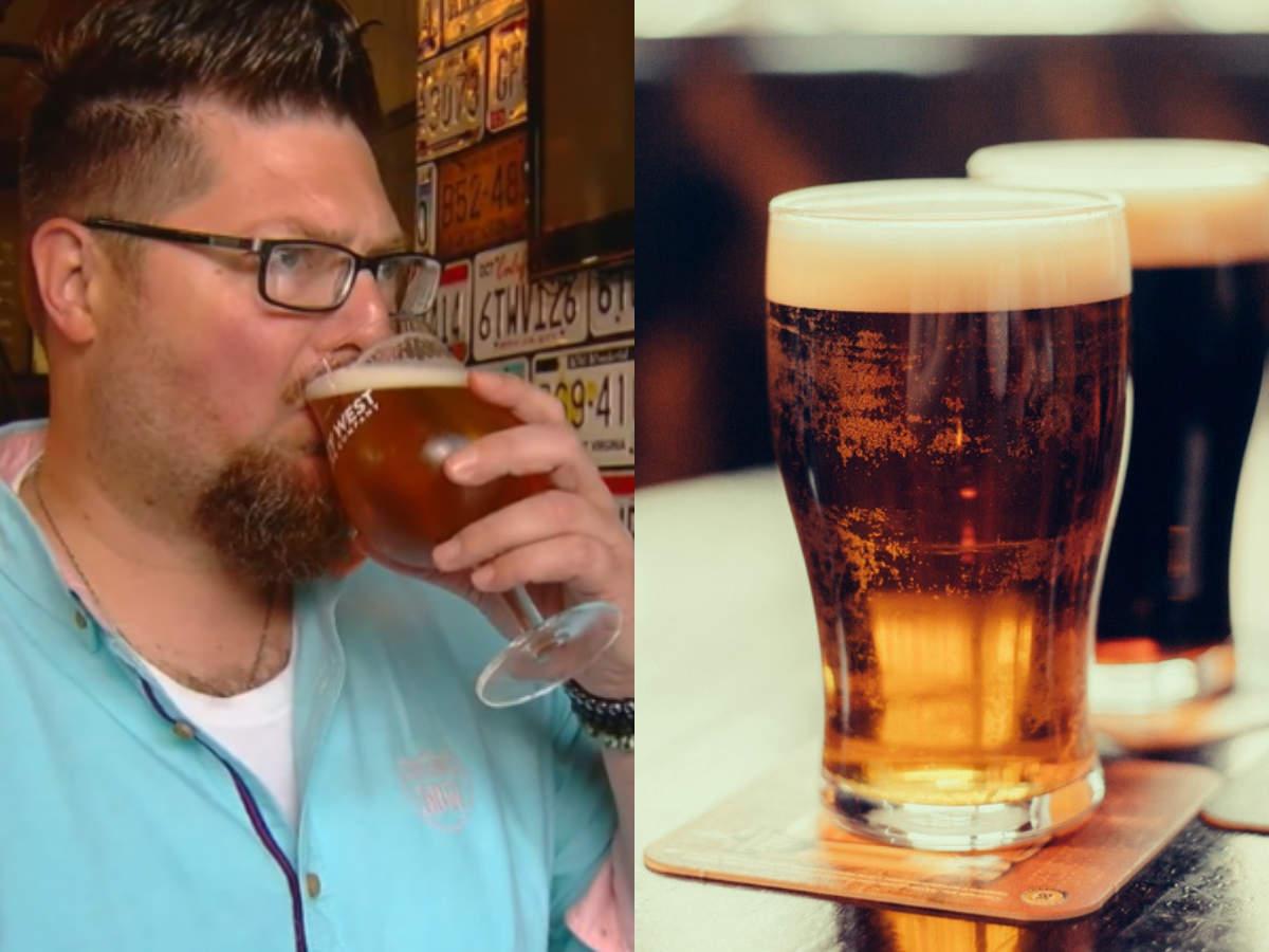 пиене на бира