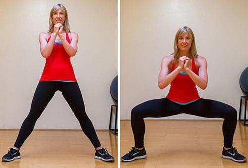 упражнения за бедрата