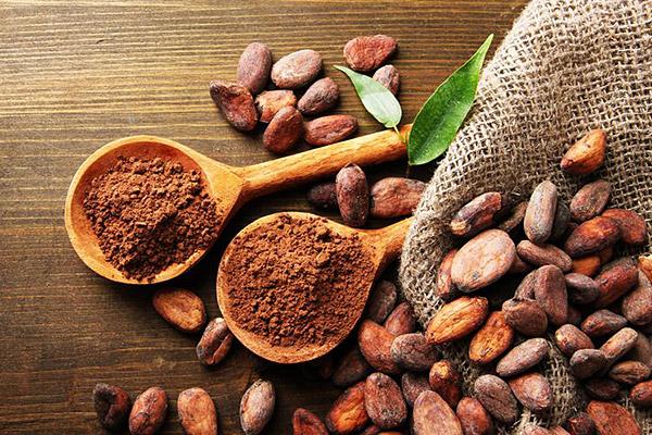 какао зърна