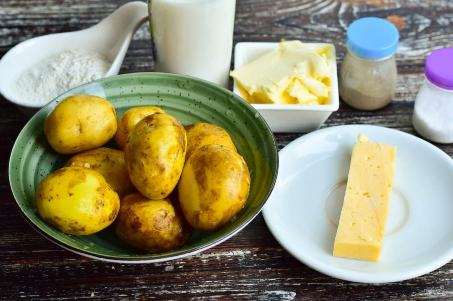 продукти млечни картофи