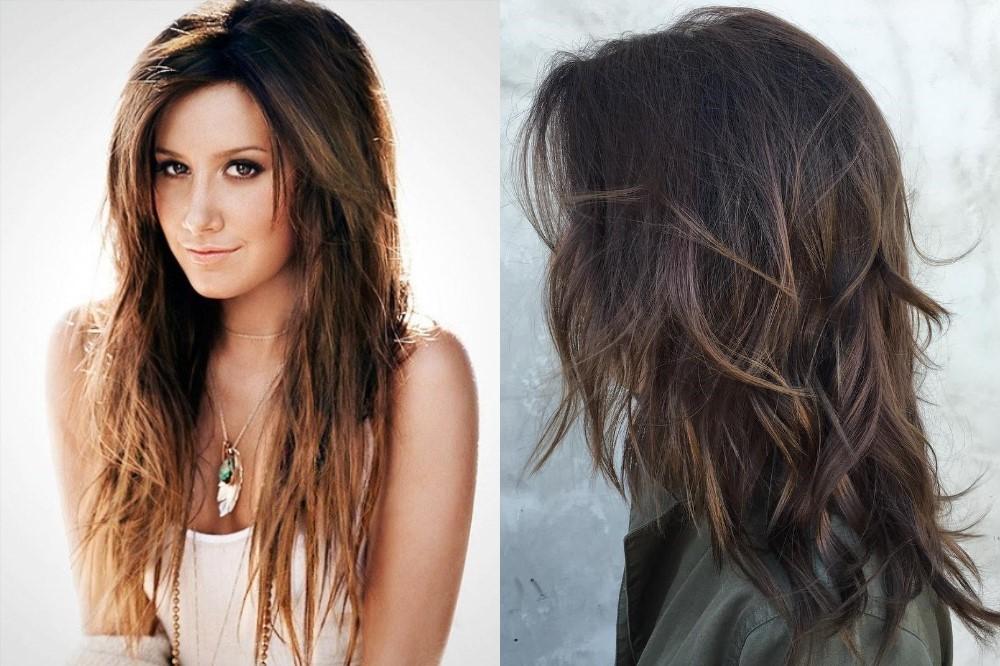 разкошна прическа дълга коса