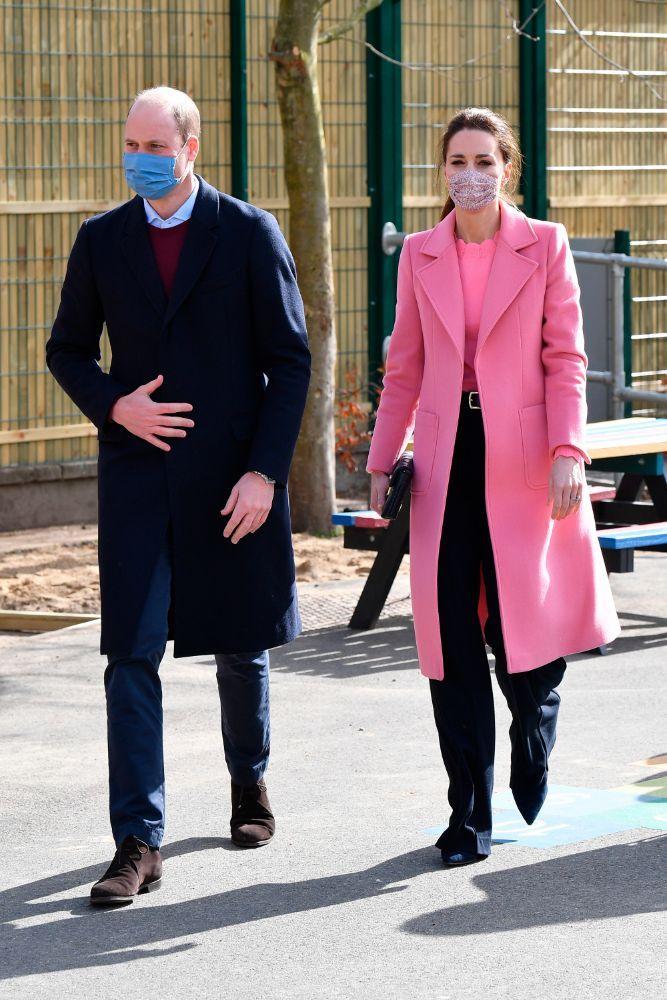 Кейт и Уилям маски