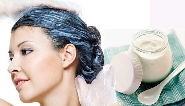 маска за коса с кисело мляко