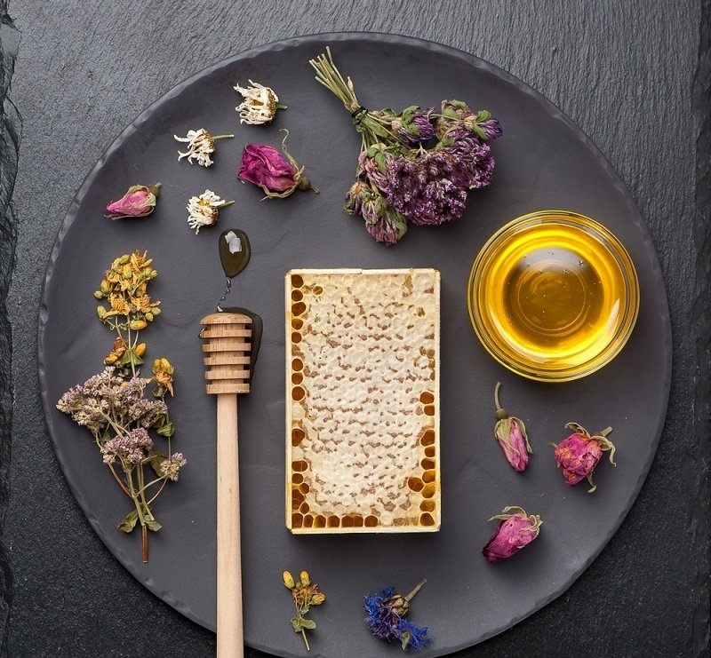 ползи мед