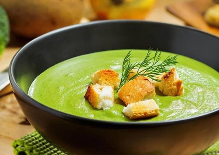 детокс супа с броколи