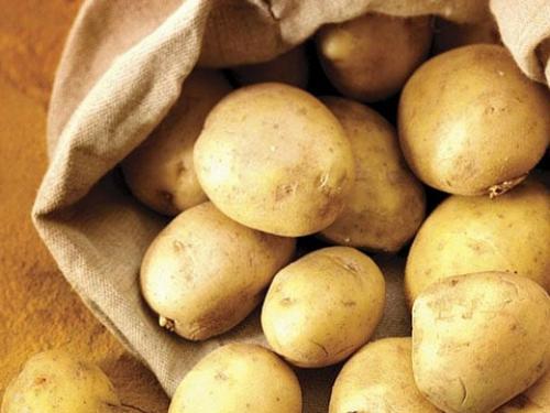 картофи в чувал
