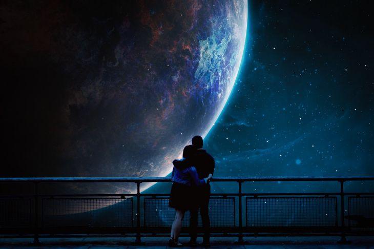 романтична луна