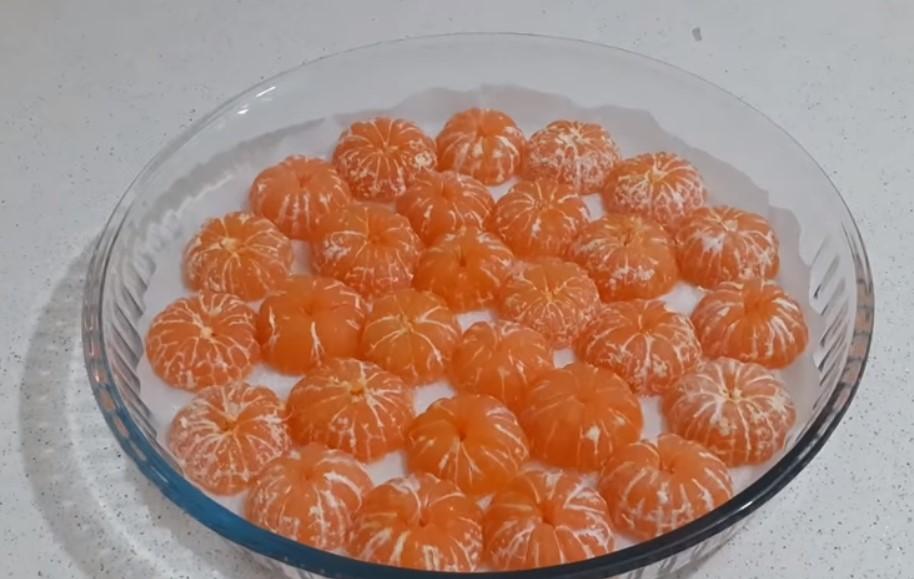 мандарини сладкиш
