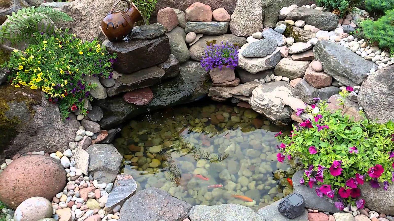 езерце от стари гуми