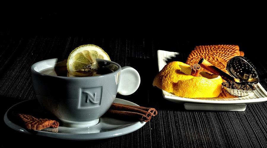 кафе с резен лимон