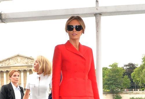 Парижкият стил на Мелания Тръмп