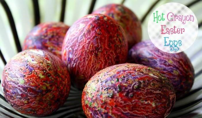 пъстроцветни яйца