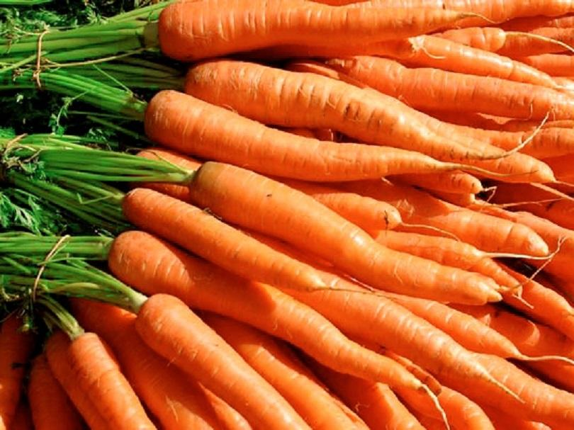 сурови моркови