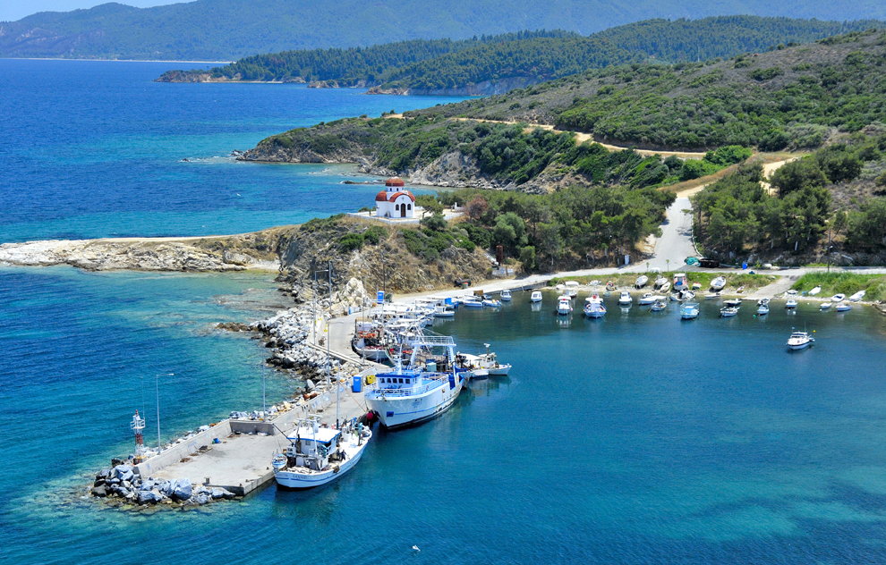 Гърция море