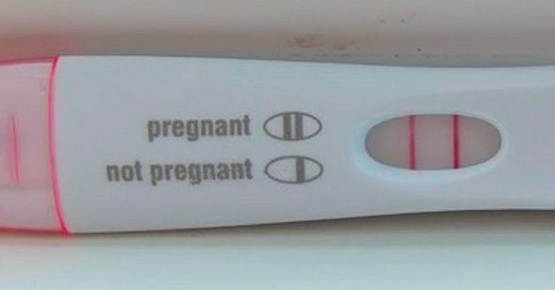 положителен тест за бременнност