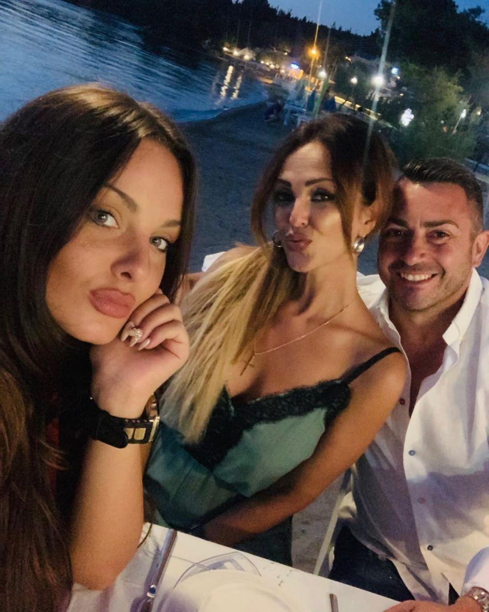Глория със Симона и Йордан