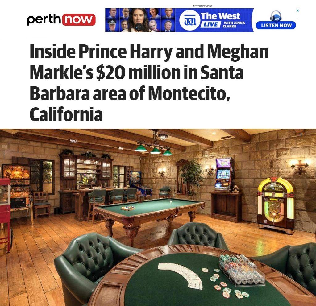 имението на Меган и Хари отвътре