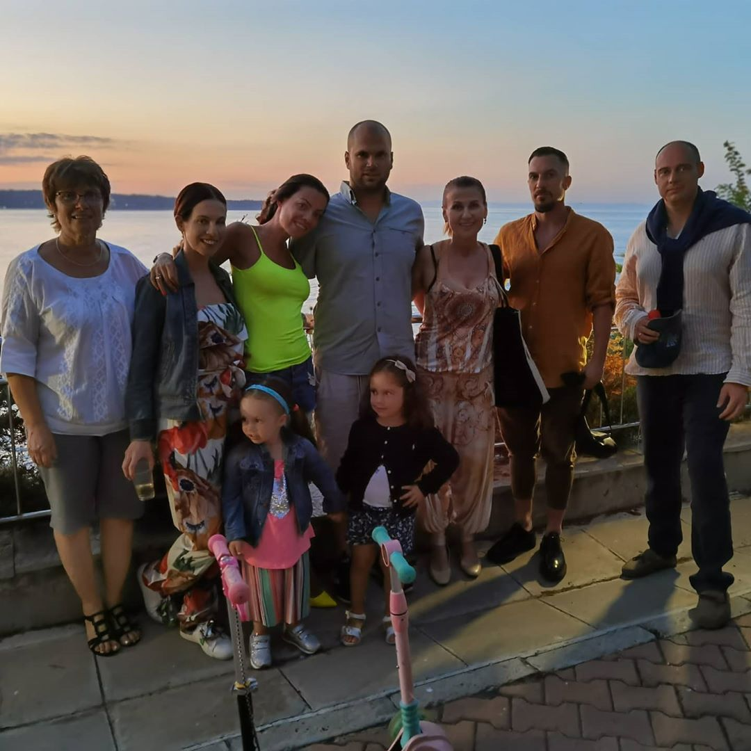 Илиана Раева семейна почивка