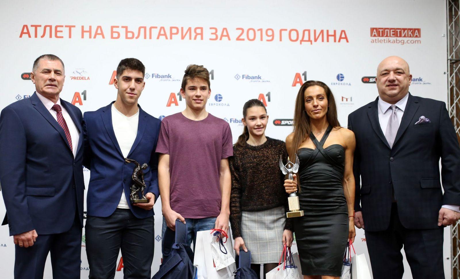 Ивет Лалова атлет на годината