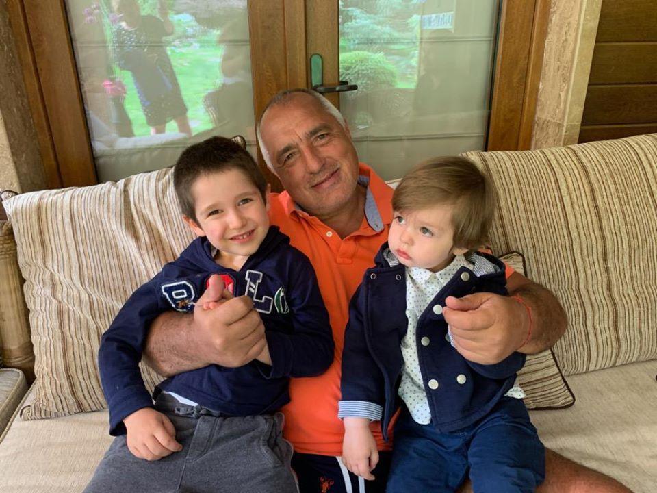Бойко Борисов внуци