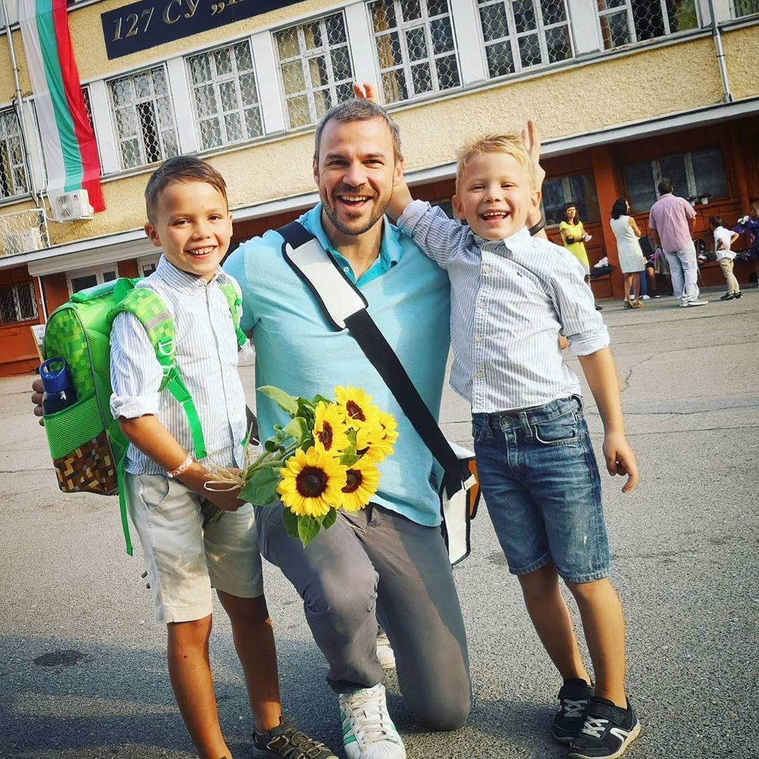 Ивайло Захариев ученици