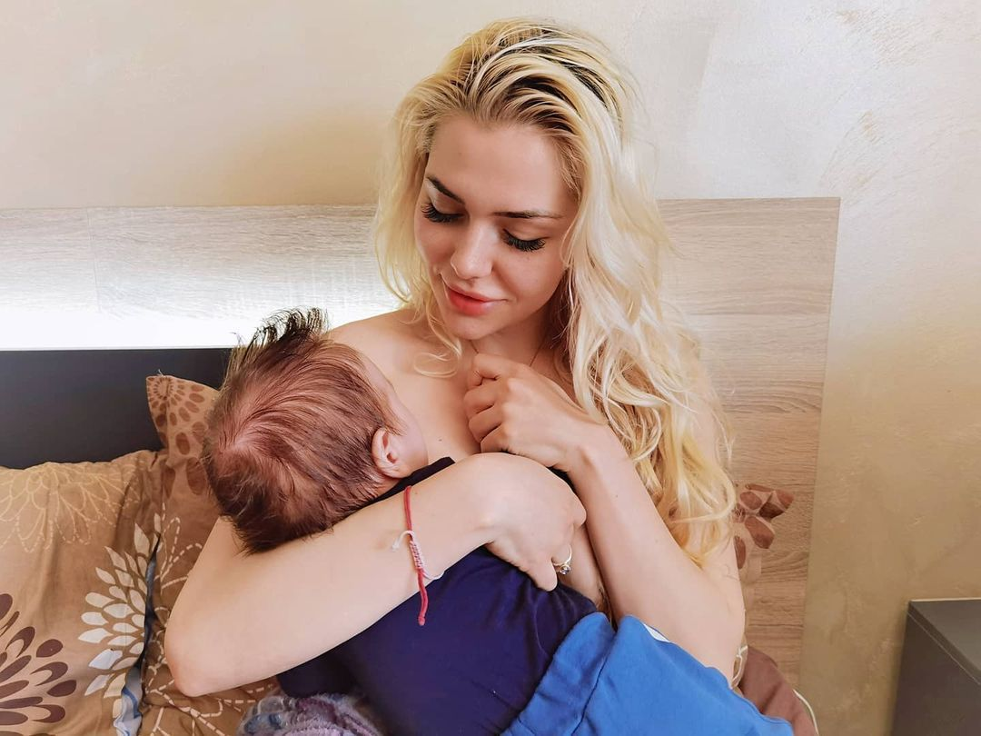 Калина Кузманова бебе