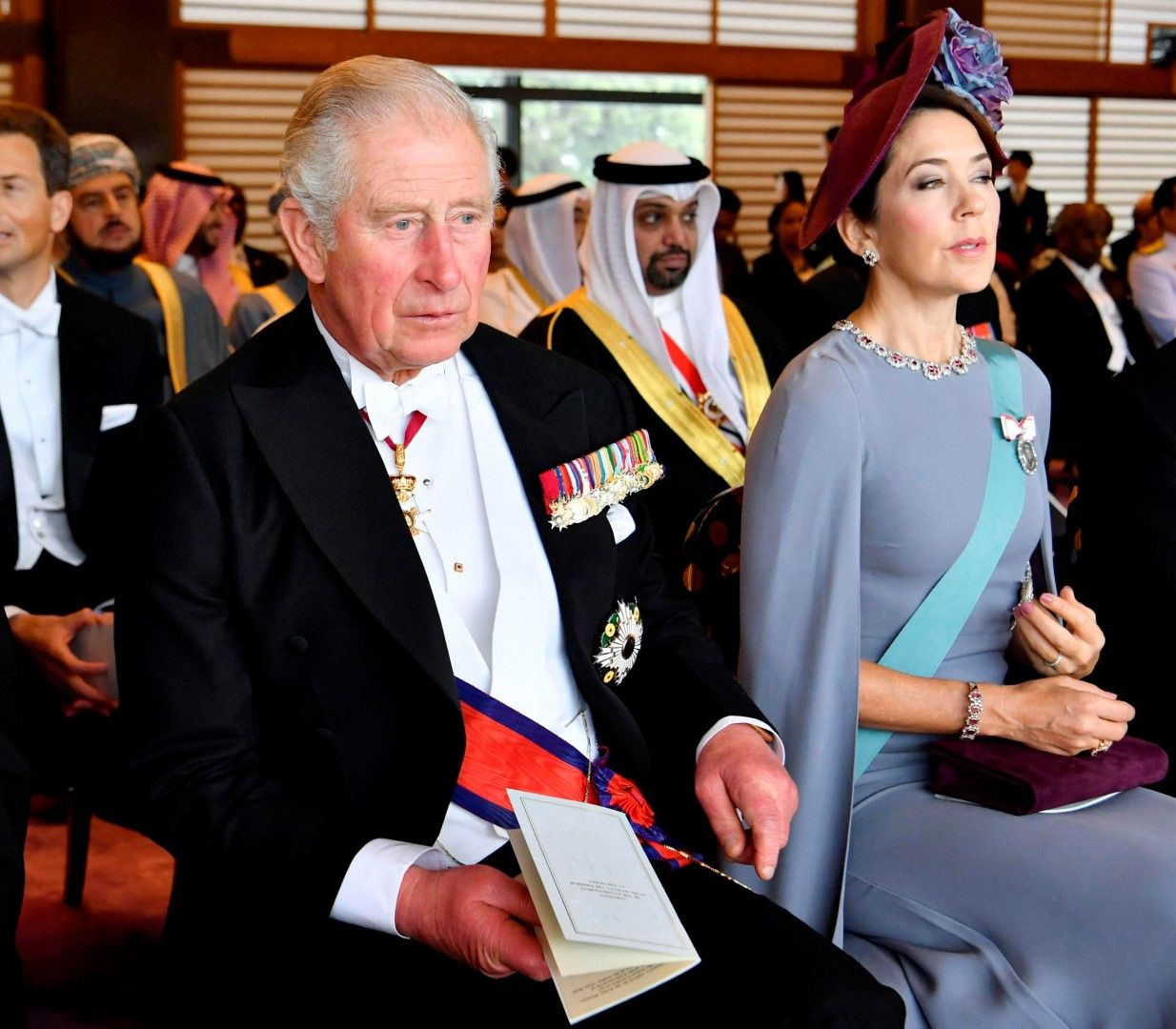 Принц Чарлз и датската принцеса Мери