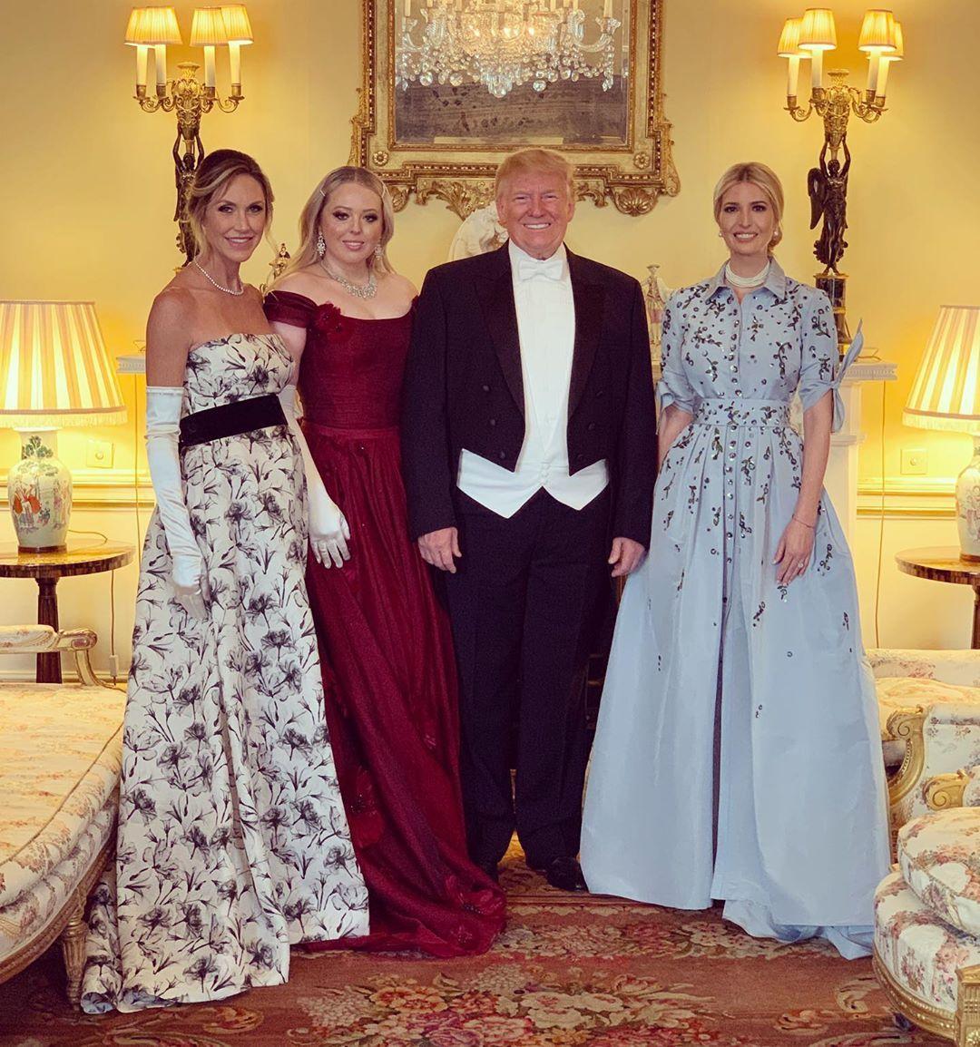 дъщерята на Тръмп в Лондон