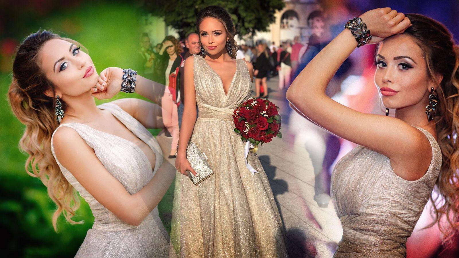 абитуриентка с рокля