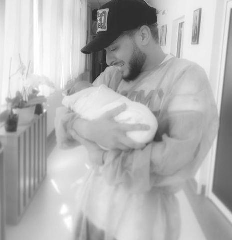Криско с бебето