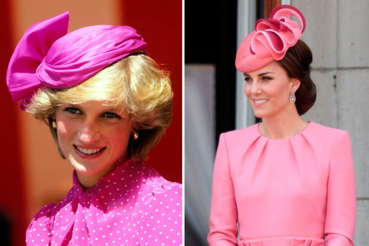 Даяна и Кейт в розово