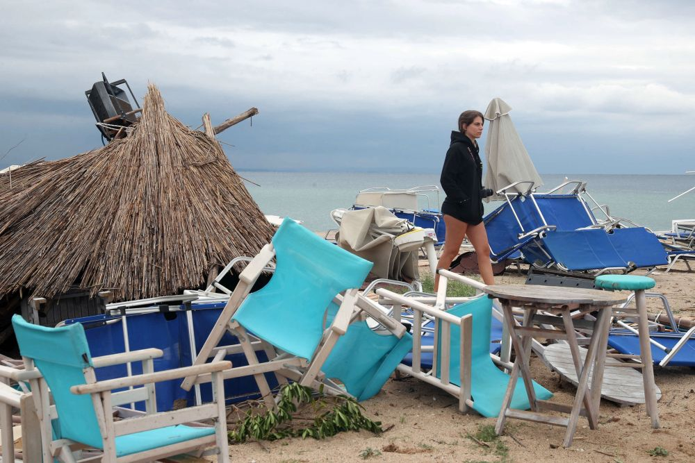 плаж след бедствие