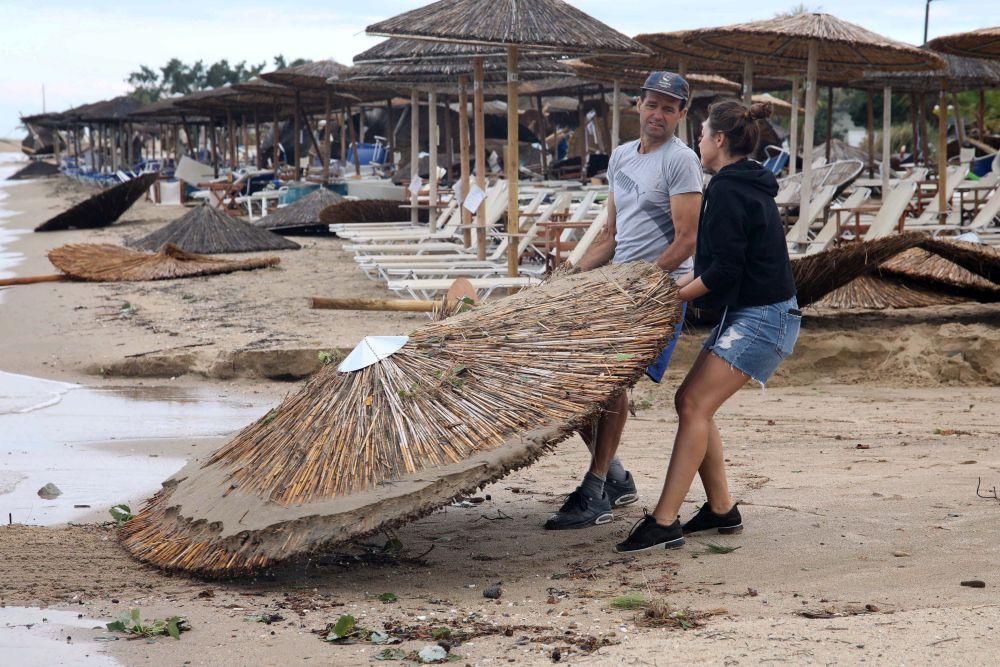 разрушен плаж