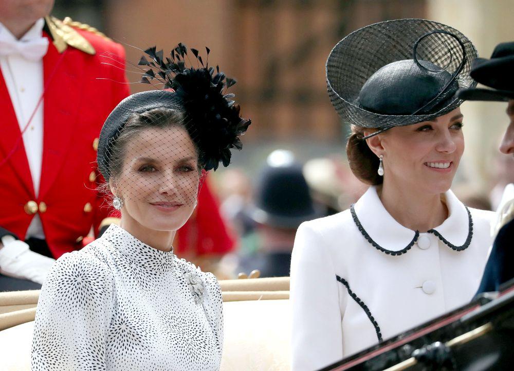 Кейт и кралица Летисия
