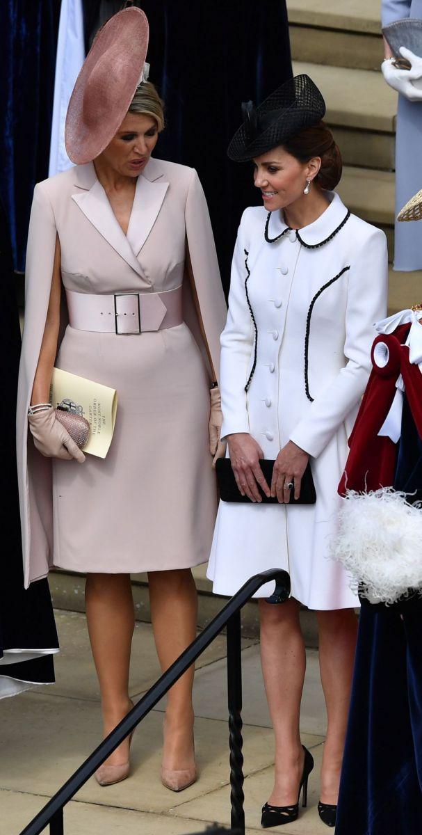 Кейт с кралица Максима