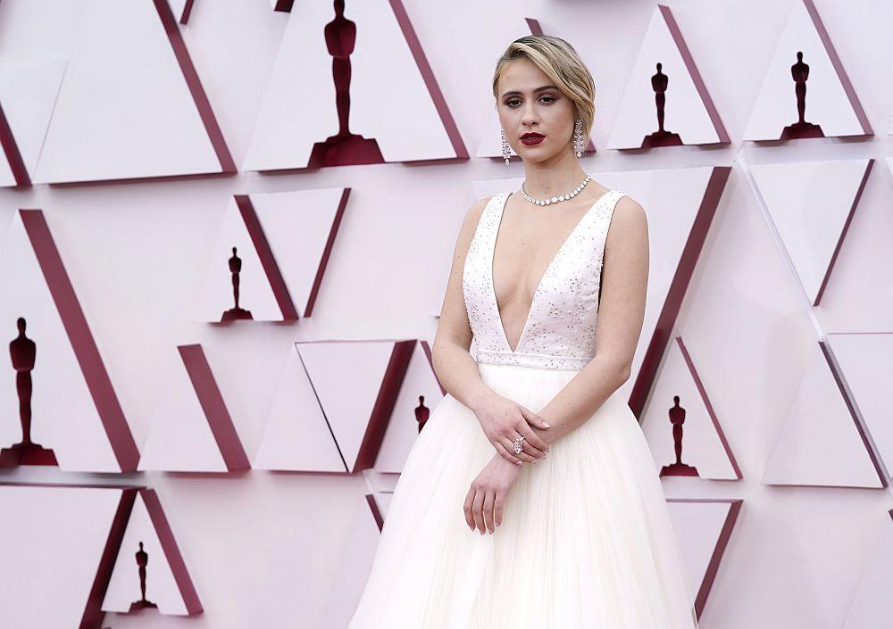 Мария Бакалова на Оскарите