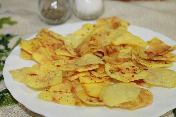 домашен здравословен чипс