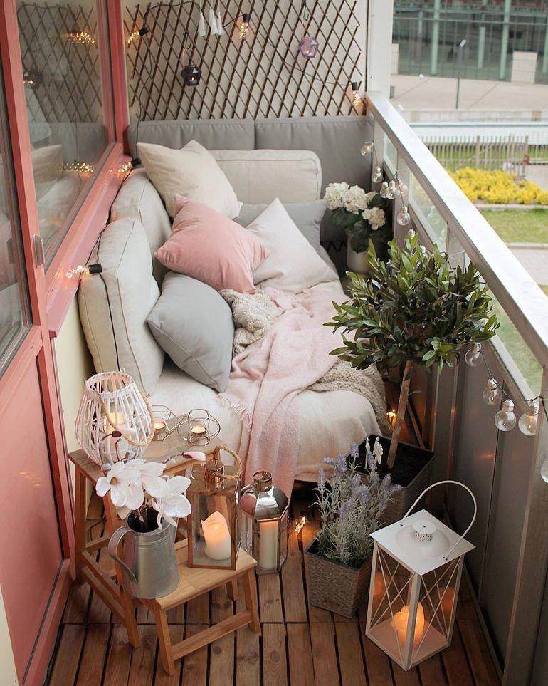 идеи за релакс на балкона