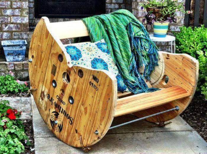 градинско кресло от макара
