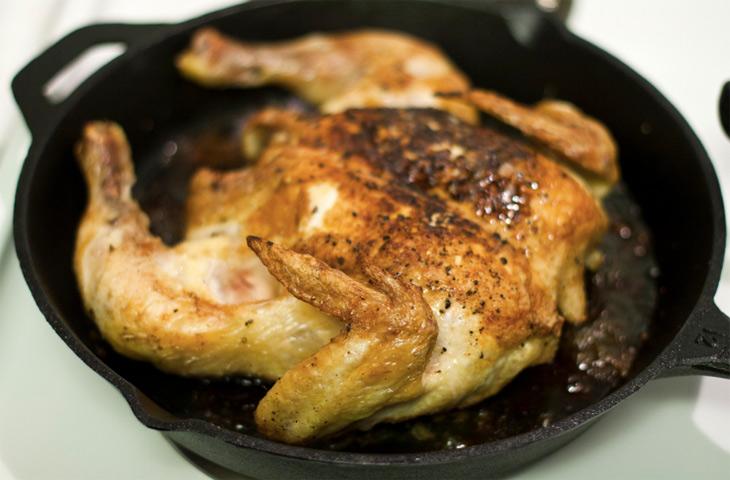 пиле на тиган