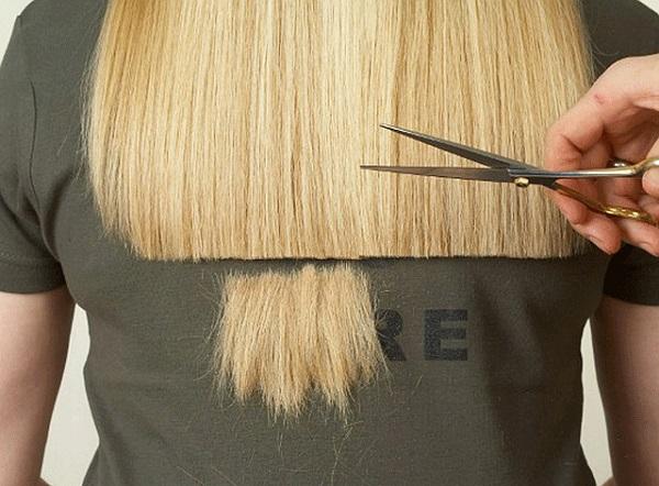 подстригване на връхчетата