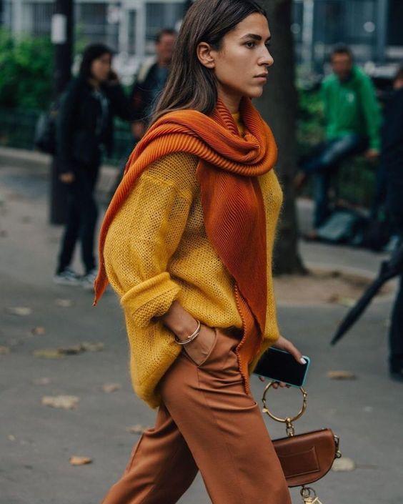 дрехи в оранжево