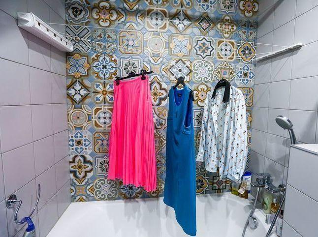 пране в банята