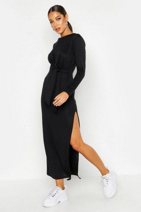 секси плетена рокля с цепка