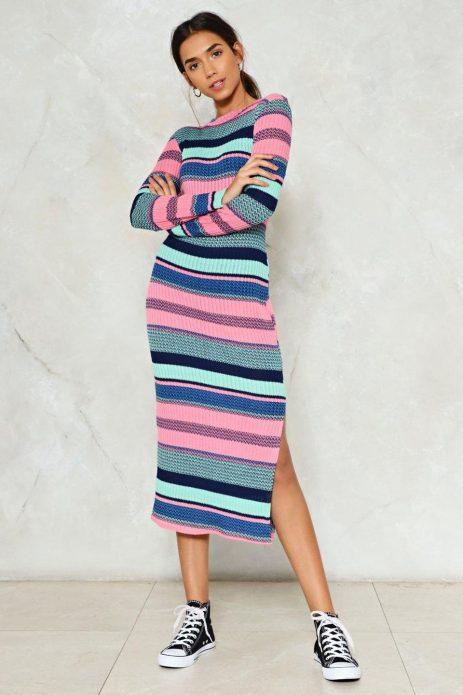 принт на трикотажни рокли