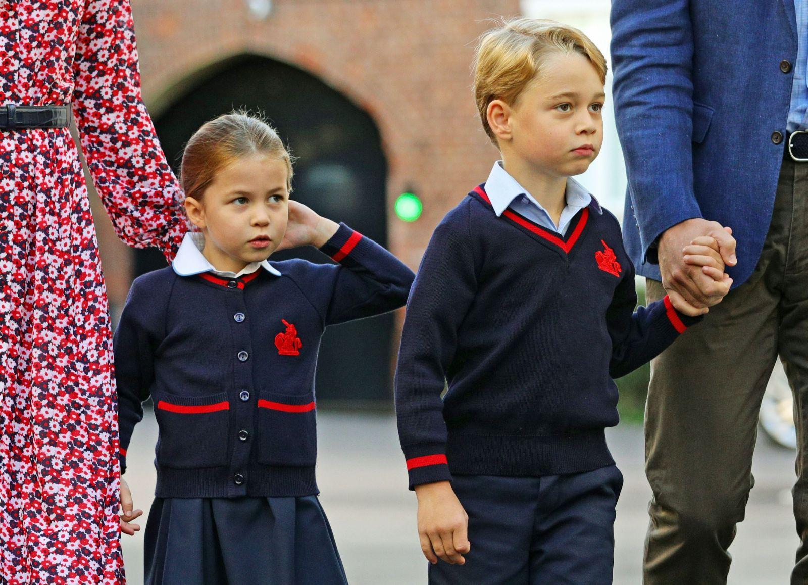принц Джордж и Шарлот