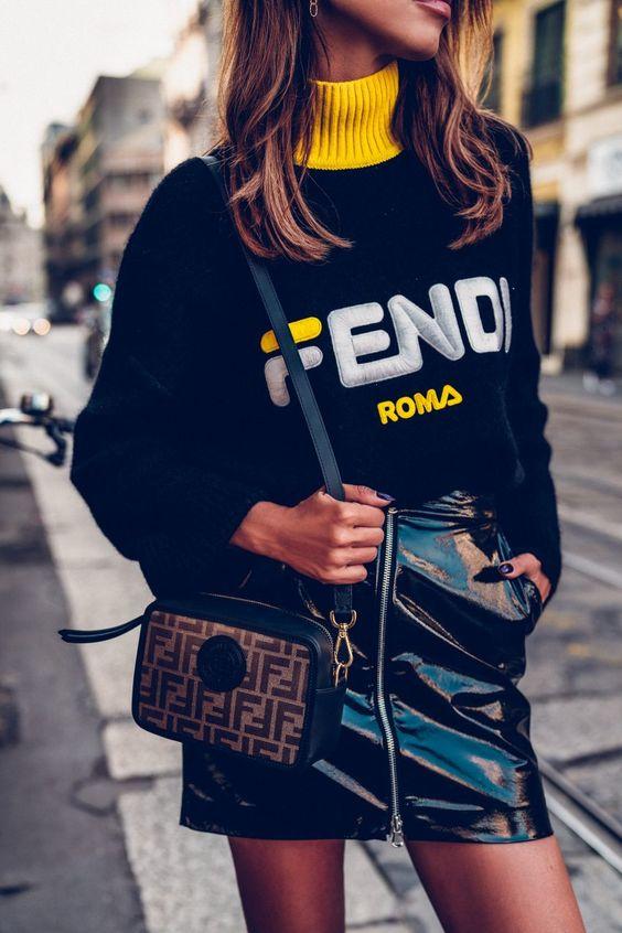 пуловер дизайнерски надписи