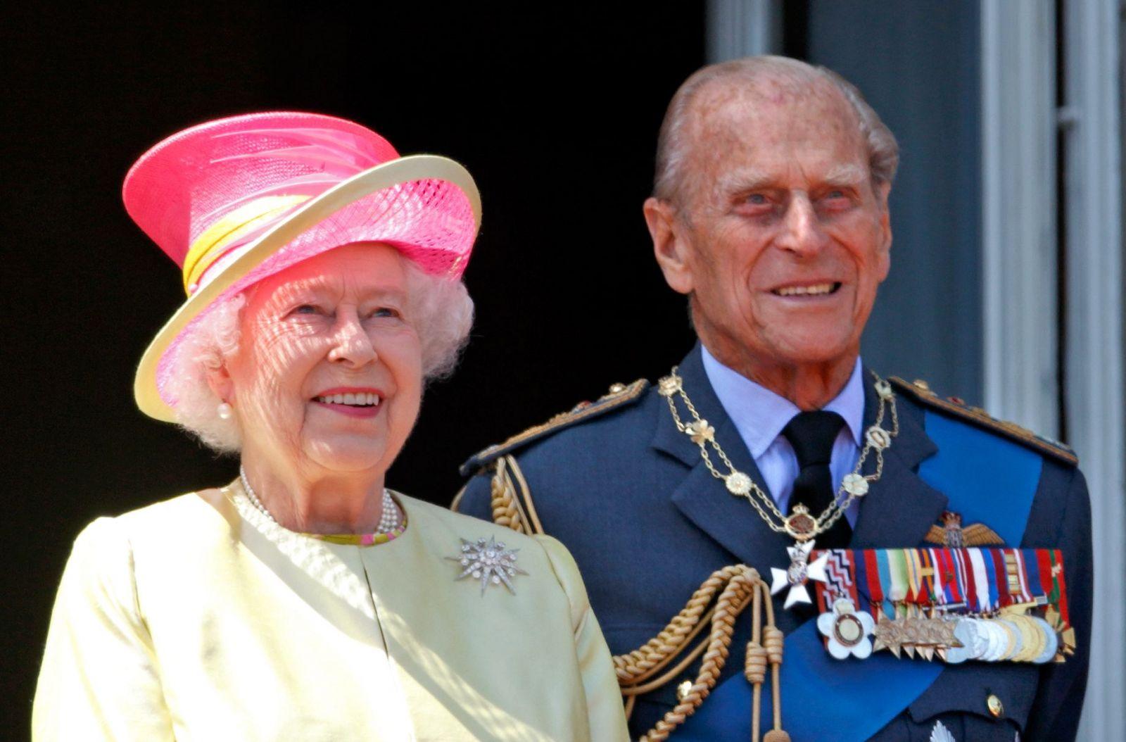 кралицата и херцога на Единбург