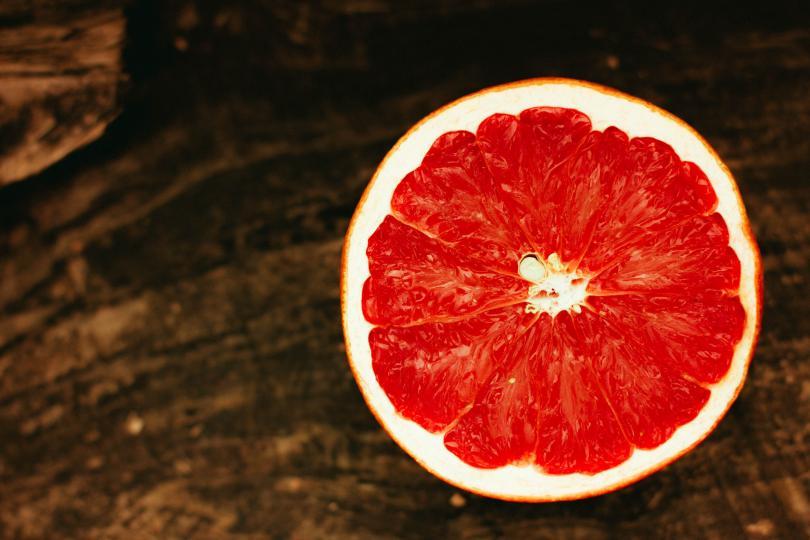 грейпфрут половинка